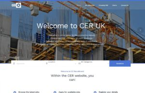 CER Recruitment Bournemouth Website