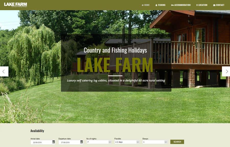 Lake Farm Alderholt Website