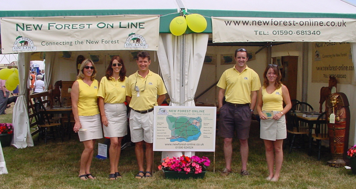 New Forest Online at the New Forest Show