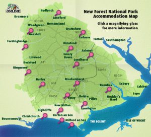 The New Forest Online Directory Map