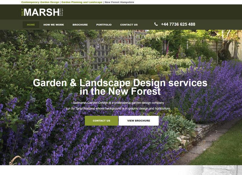 Salt Marsh Garden Design