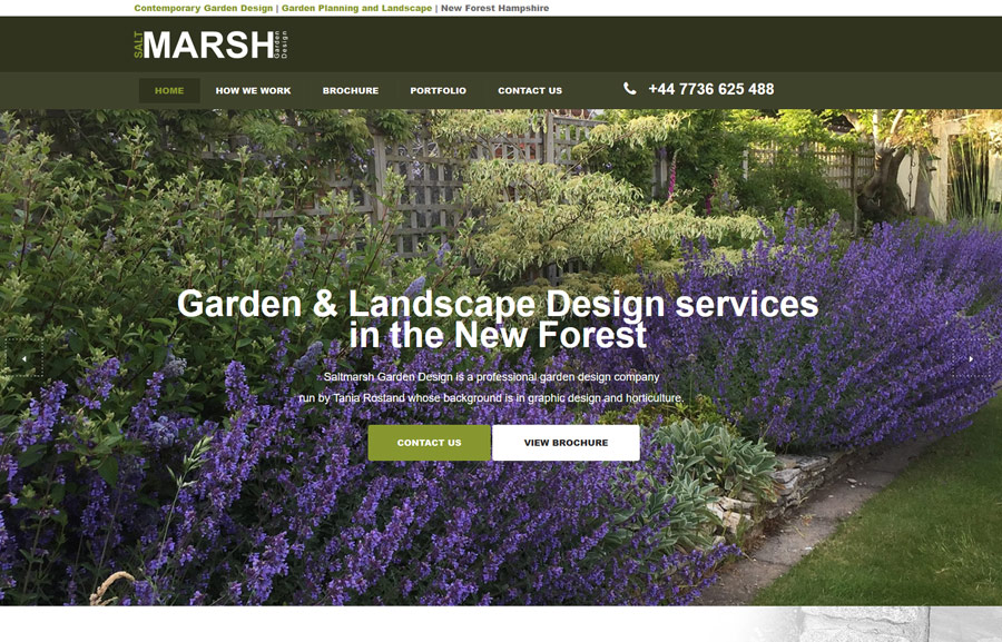 Salt Marsh Garden Design